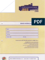 JBCC Minor Works Contract Doc
