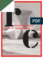 Retired images - David Maljković - Gallery Nova Newspapers no.17