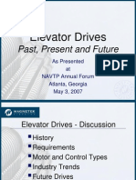 Elevator drives