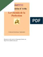 4332-SAINTE THERESE D AVILA-Le Chemin de La Perfection-[InLibroVeritas.net]