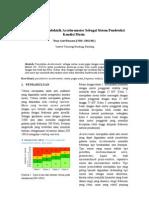 Pemodelan Piezoelektrik Accelerometer Sebagai Sistem Pemantau Kondisi Mesin