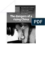 The dangers of a rising China