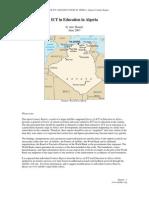 Algeria - ICTed Survey