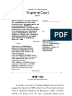 Revised Petition for Certiorari vs RH -Final
