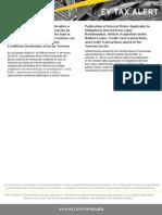 Tax Alert-Aviso BCV Tasas de Interés Aplicables a Obligaciones derivadas de la Relación de Trabajo, Adquisición de Vehículo