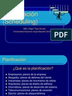 Planificacion y Scheduling