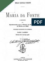 Maria da Fonte, por Camilo Castelo Branco