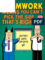 Dilbert - Teamwork Means You Can't Pick the Side that's Right (Dilbert Collections)