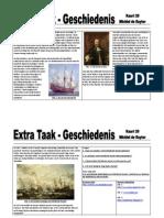 Extra Taak 20 GS Michiel de Ruyter
