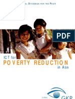 4.1 ICT and Poverty in Asia