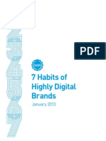 The 7 Habits of Highly Digital Brands