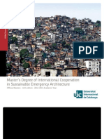 Master's Degree of International Cooperation
