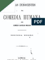 Cenas Inocentes da Comédia Humana, por Camilo Castelo Branco