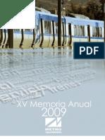 Memoria de Metro de Valparaíso