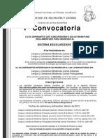 1a Convocatoria 2013-2