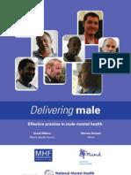 Delivering Male - Men's Mental Health