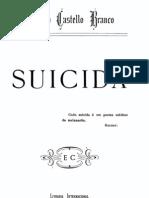 Suicida, por Camilo Castelo Branco