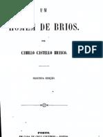 Um Homem de Brios, por Camilo Castelo Branco