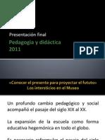 Pedagogia y didáctica final pdf