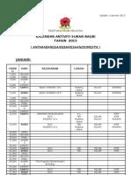 Calendar Krm 2013