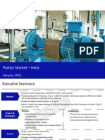 Pumps Market in India 2011