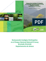 Memorias Técnicas Proyecto de Restauración Parque Cocuy, costado oriental, Arauca.