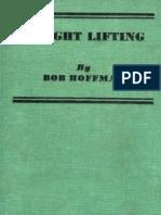Bob Hoffman weightlifting
