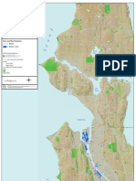 Seattle sea-level map