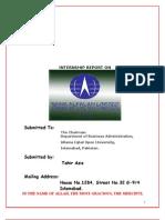 Internship Reporttahir Aziz