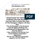 Military Resistance 11A10 the Taliban Surge
