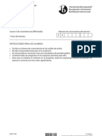 Estudios Matematicos Prueba 1 BI 2009