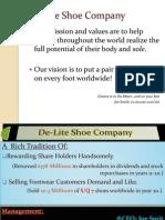 Shoe Company Presentation