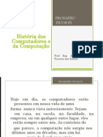 AULA 1 HISTÓRIA DO COMPUTADOR