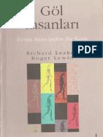 Göl İnsanları - Evrim sürecinden Bir Kesit Richard Leakey - Roger Lewin