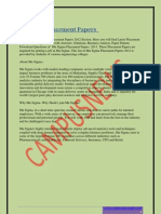 Mu Sigma Placement Papers-1