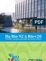Da Rio 92 Rio 20 CETEM
