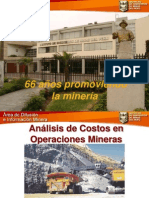 Costos en Mineria
