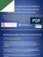 Presentación del estudio genetico