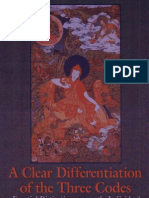 94924772 Sakya Pandita a Clear Differentiation of the Three Codes