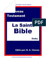 French Holy Bible Darby New Testament PDF