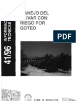 Manejo Del Olivar Con Riego Por Goteo BAJA