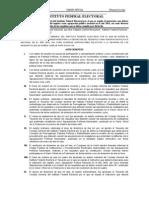 Acuerdos IFE Registro Partidos Políticos