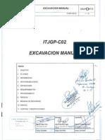 Procedimiento Excavacion Manua