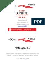 Netpress 2.0 presentazione della Piattaforma per ufficio stampa 2.0
