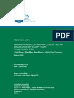 ITS Master 19016 Perbandingan Metode Regresi Logistik Ordinal Dengan Jaringan Syaraf Tiruan Fungsi Radial Basis Studi