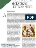 LA PAROLA DI GESÙ SUL LETTINO DI FREUD di MASSIMO RECALCATI - Repubblica 14.01.2013