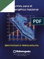 Libro Apuntes Para El Plan Energetico