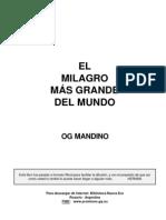 Libro Og Mandino - El Milagro Mas Grande Del Mundo