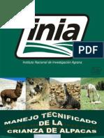 manejo tecnico de alpacas en huanuco