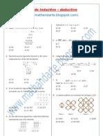 R.M. - método inductivo y deductivo